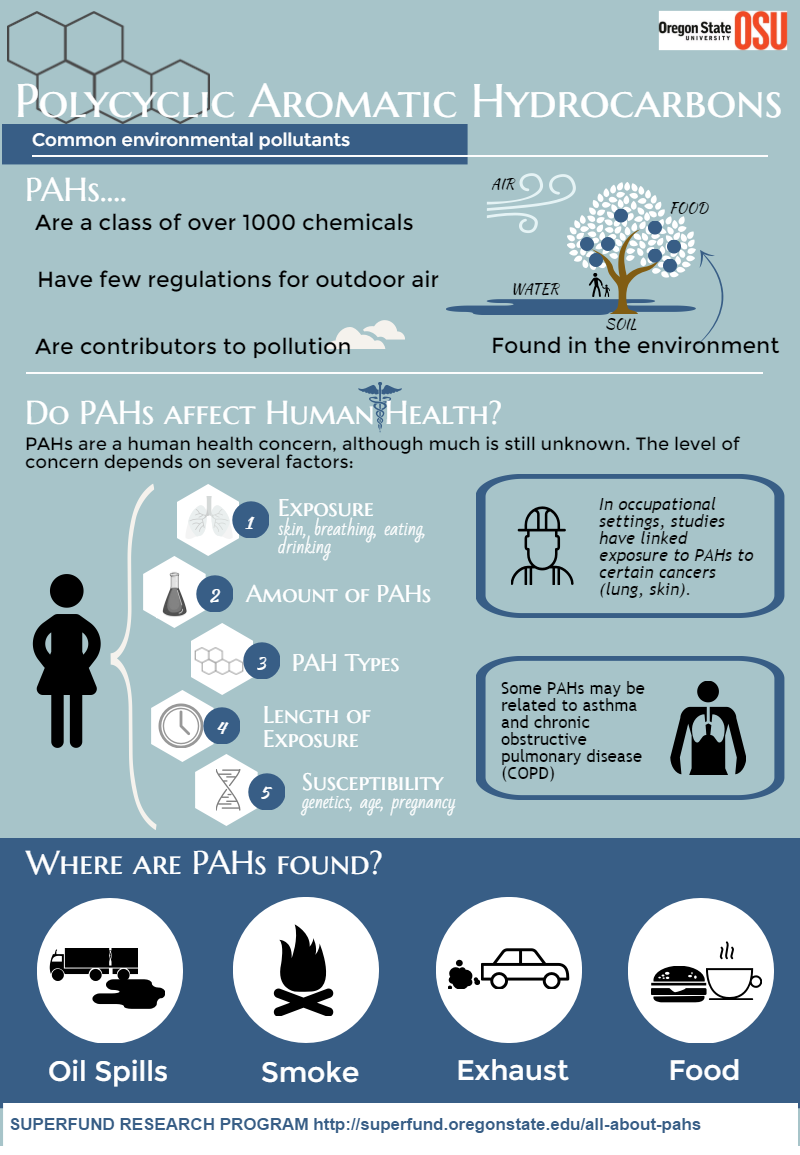 Infograph of PAHs