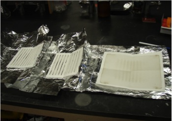 24-hour air samples mailed back to Simonich lab