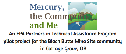 Mercury, the Community, and Me Logo